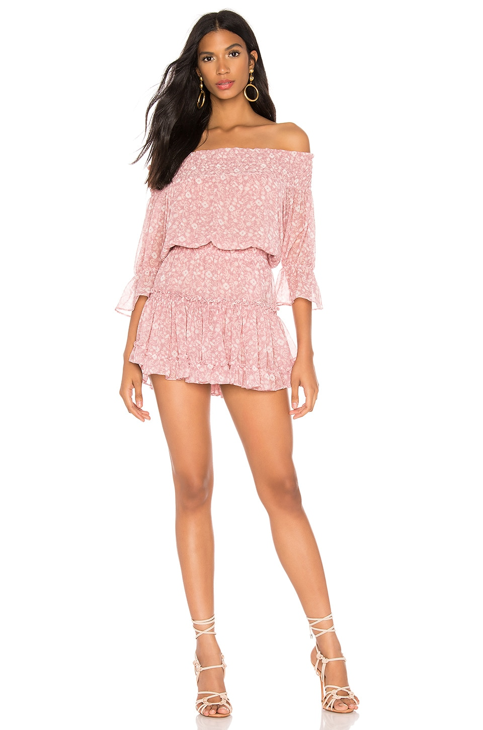 MISA Los Angeles X REVOLVE Darla Dress in Pink Floral