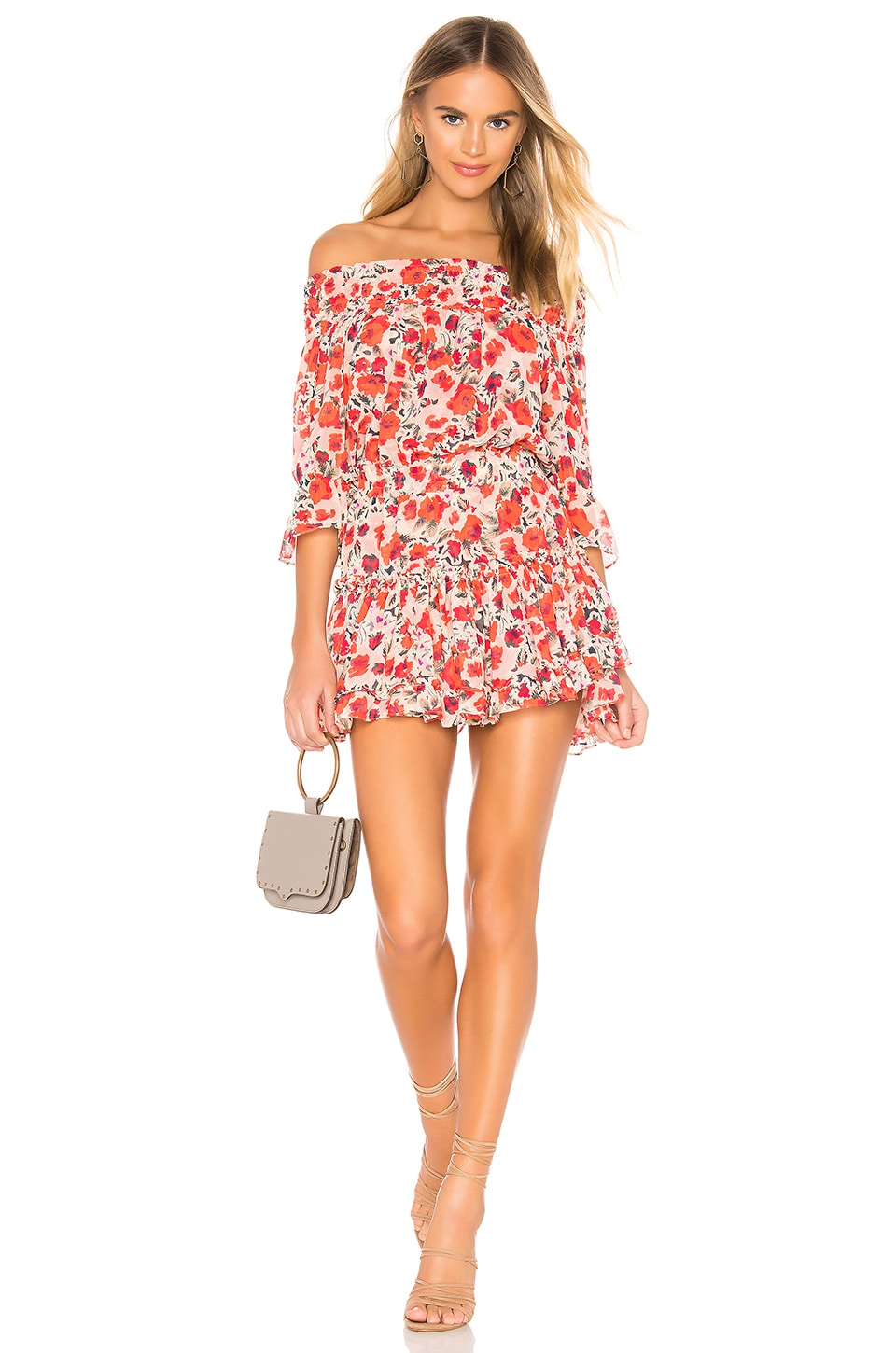 MISA Los Angeles X REVOLVE Darla Dress in Red Floral