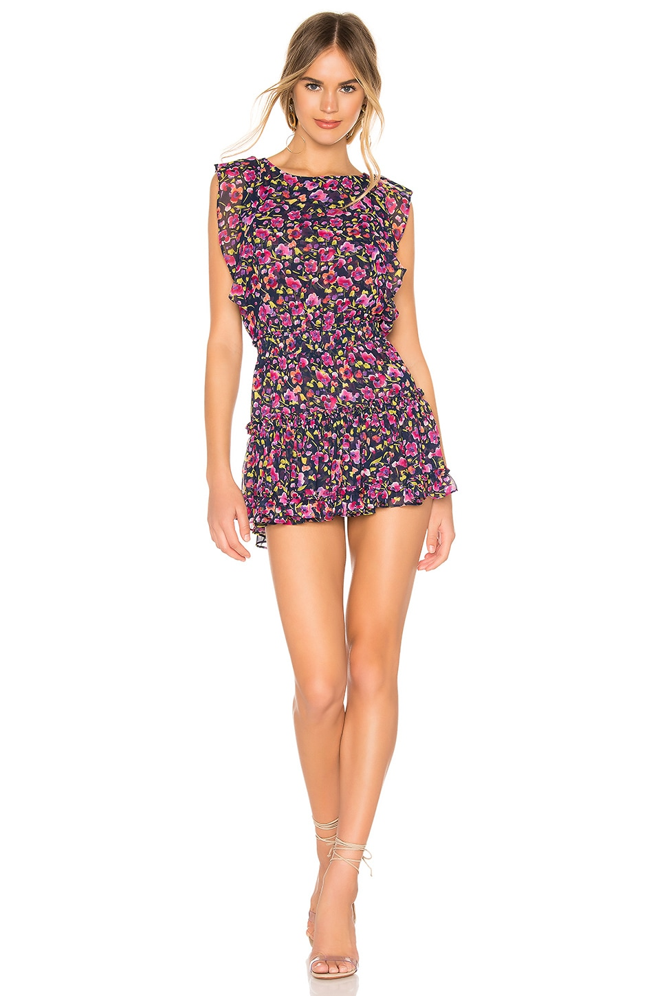MISA Los Angeles X REVOLVE Ginia Dress in Multi Floral