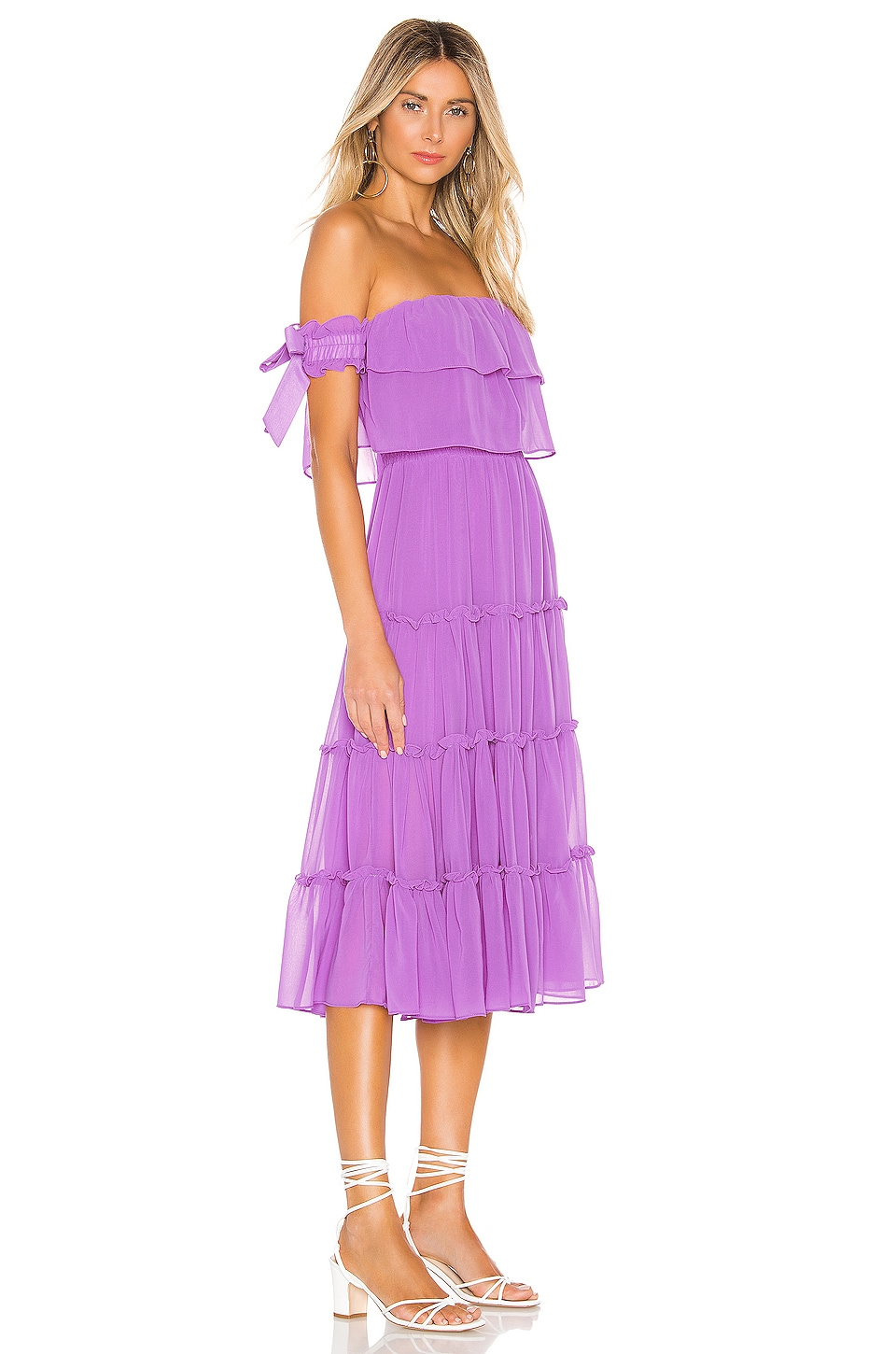 X REVOLVE Micaela Dress, view 2, click to view large image.