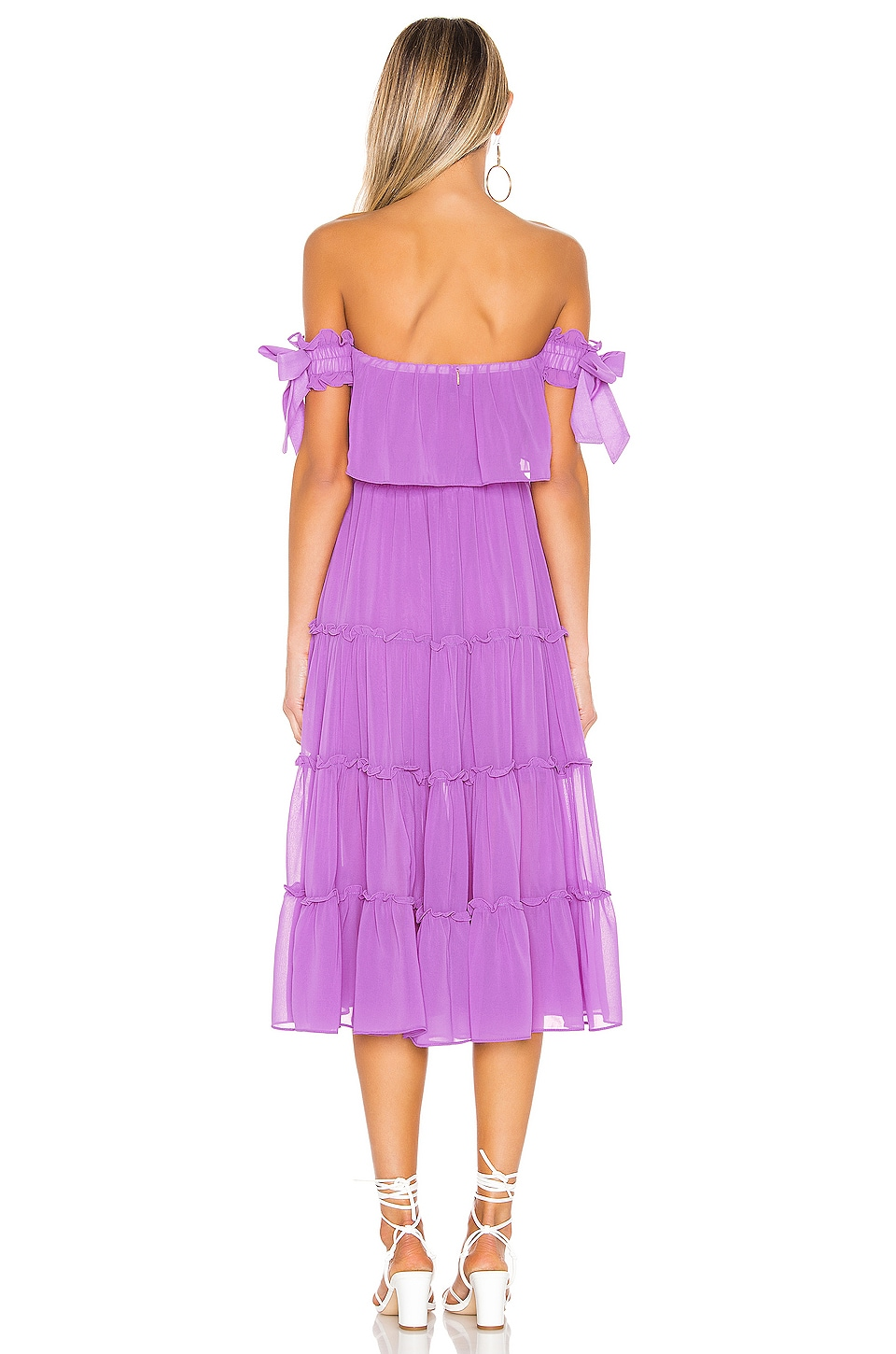 X REVOLVE Micaela Dress, view 3, click to view large image.