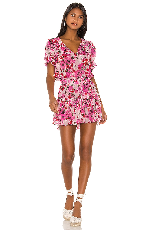 MISA Los Angeles X REVOLVE Avani Dress in Pink Floral