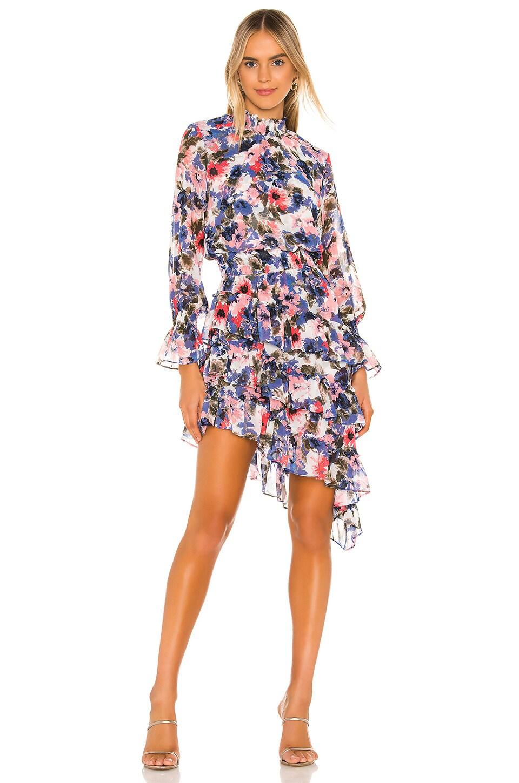 MISA Los Angeles MISA X REVOLVE Los Angeles Savanna Dress in Tie Dye Floral