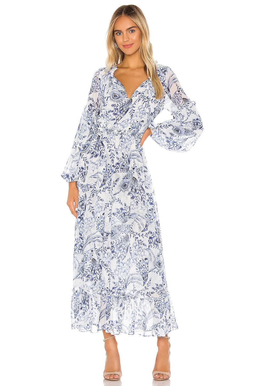 MISA Los Angeles X REVOLVE Amata Dress in Peacock