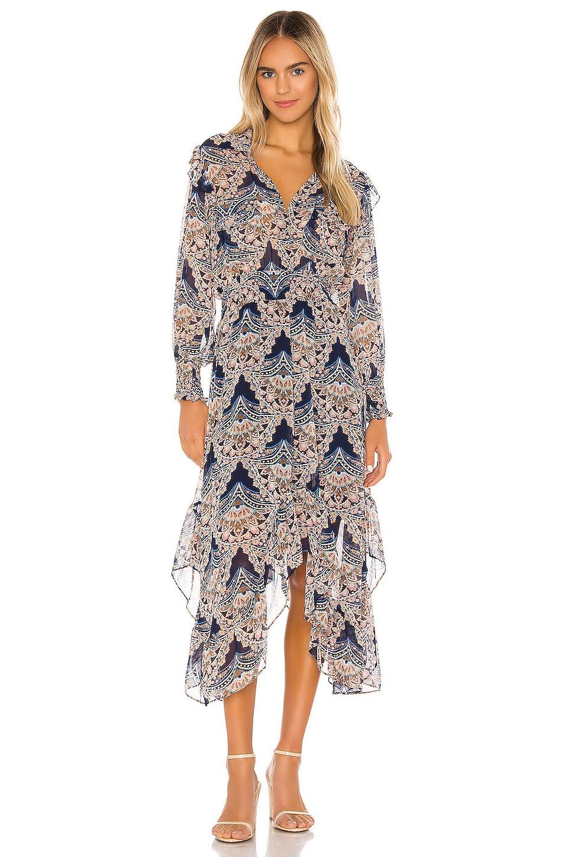 MISA Los Angeles X REVOLVE Katja Dress in Resort Paisley