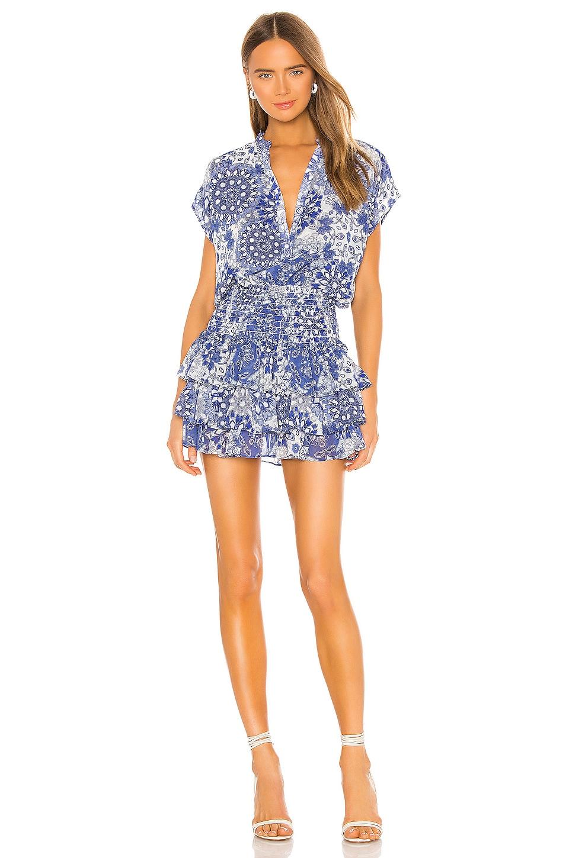 MISA Los Angeles Eloisa Dress in Tile Print