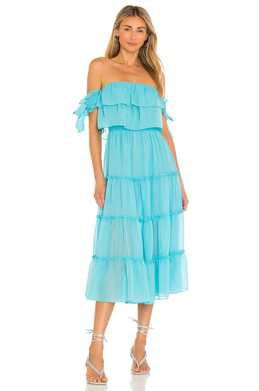 MISA Los Angeles X REVOLVE Micaela Dress in Sky Blue