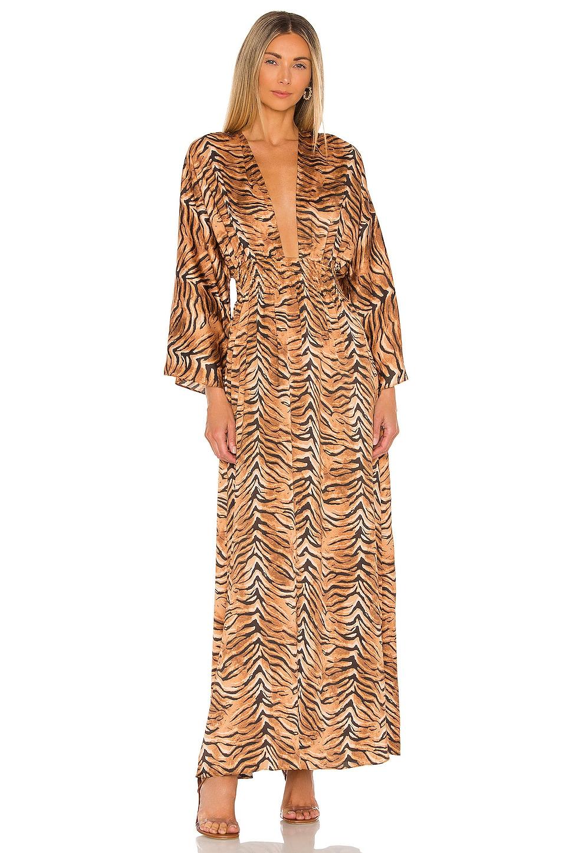 MISA Los Angeles Bardot Dress in Multi