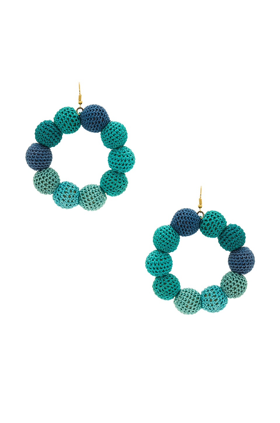 Crochet Dots Earrings