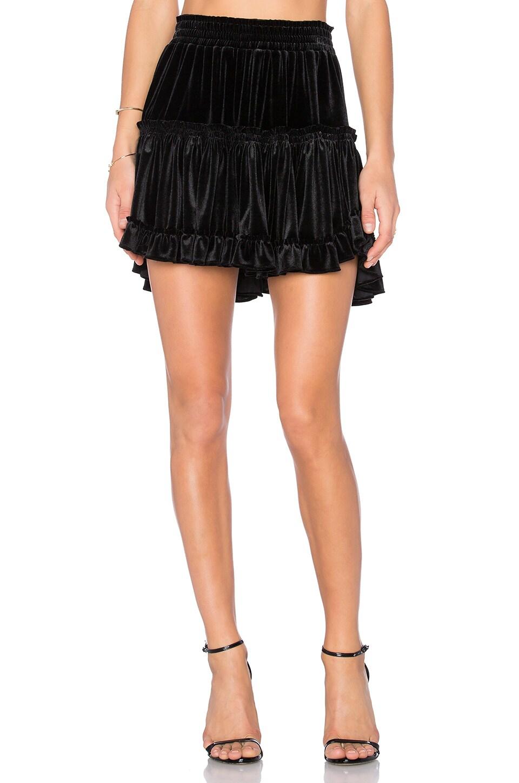MISA Los Angeles Marion Skirt in Black