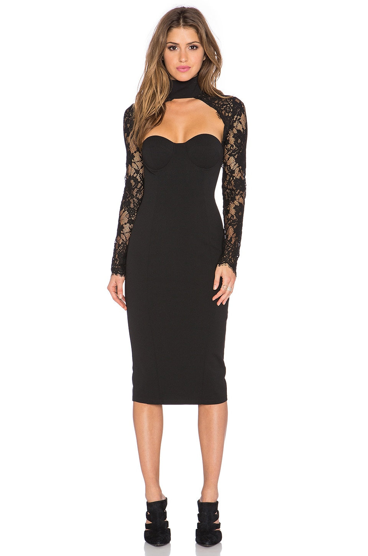 40bcad60ac2 Misha Collection Carolena Dress in Black