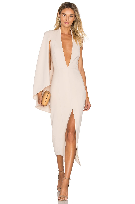 250db3cae84 Misha Collection Evita Dress in Nude