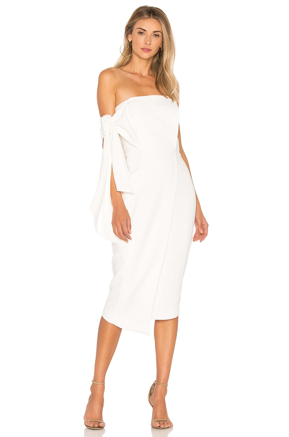 Misha Collection Romi Dress in Ivory