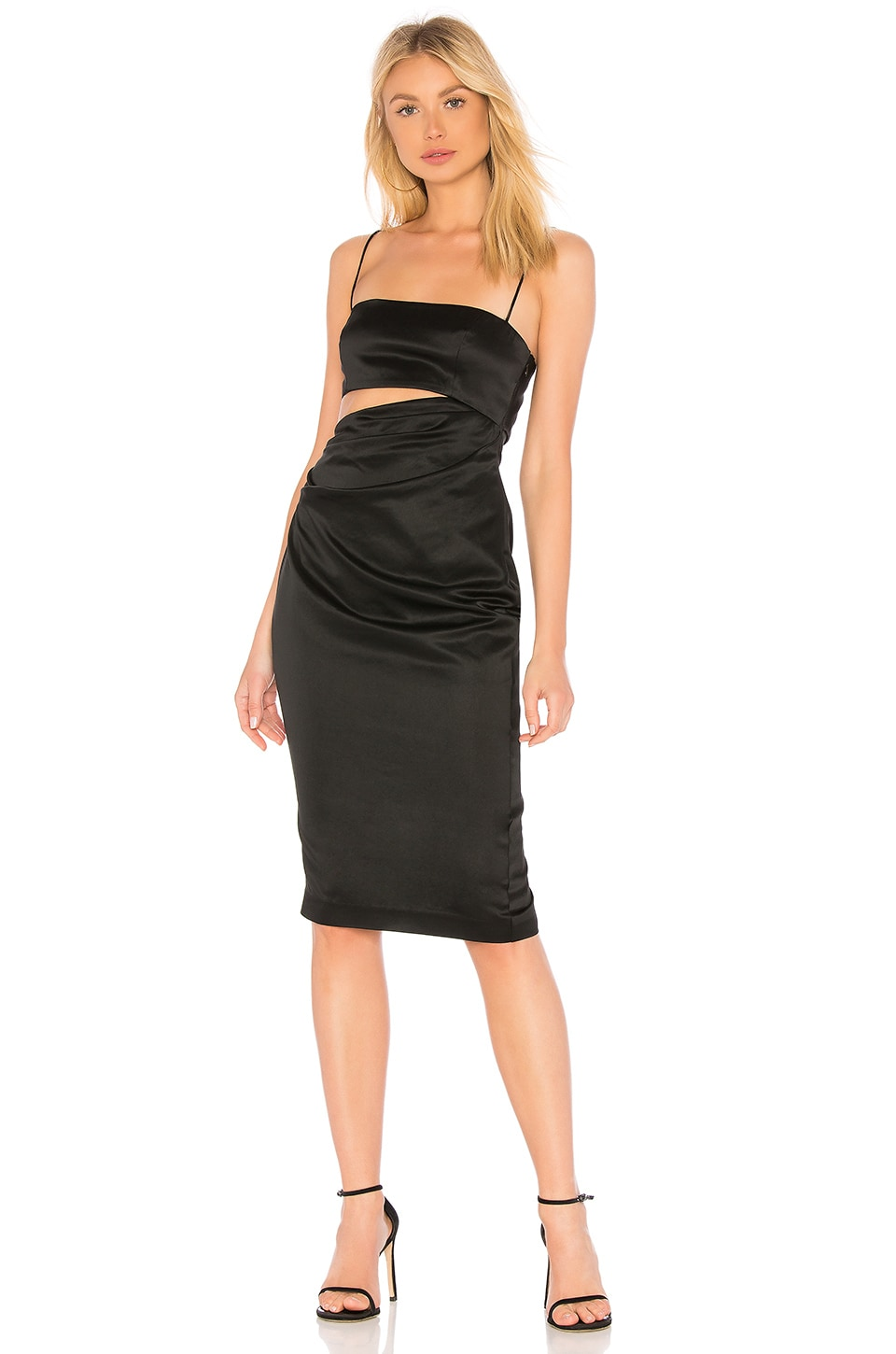 MISHA COLLECTION Selina Dress in Black