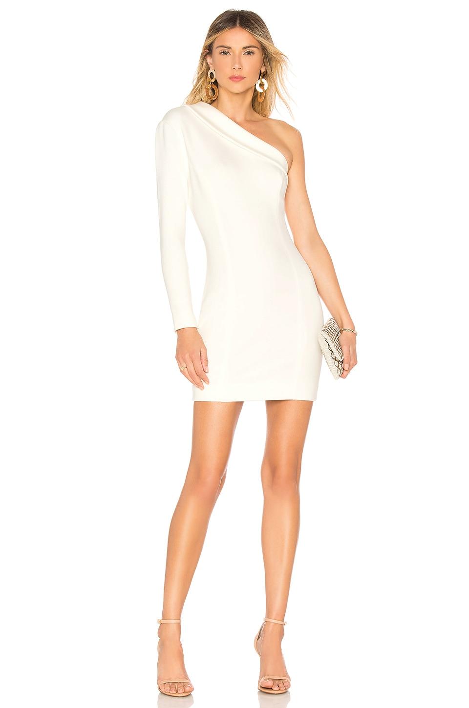 MISHA COLLECTION Amanda Dress in White