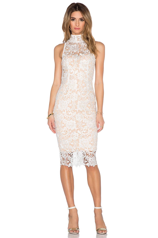 36d41c76c97 Misha Collection Eline Lace Dress in White