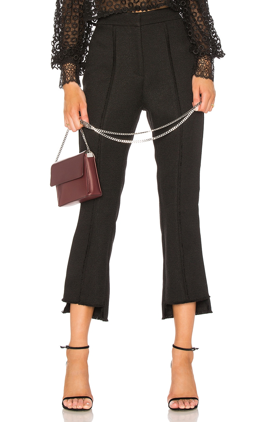 Misha Collection Marissa Pant in Black