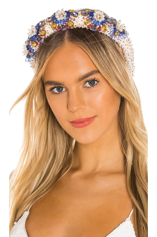 Maryjane Claverol Trinidad Headband in Multi