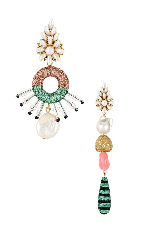 Maryjane Claverol Pinata Mismatched Earrings in Multi