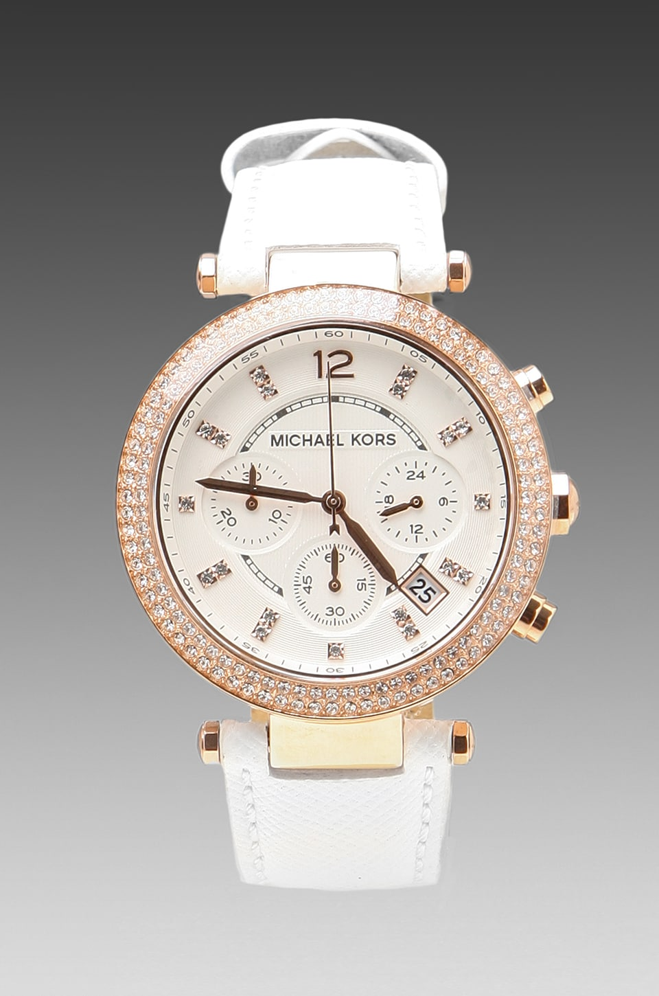 Michael Kors MK2281 in White/Rose Gold