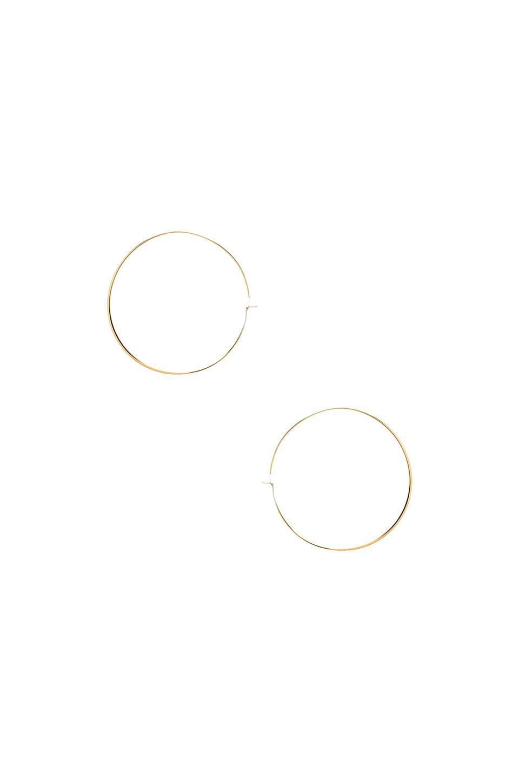 Michael Kors Hoop Earrings in Gold