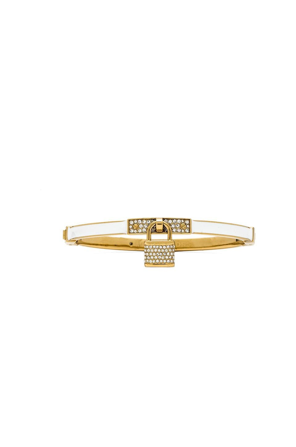 Michael Kors Padlock Bracelet in Gold