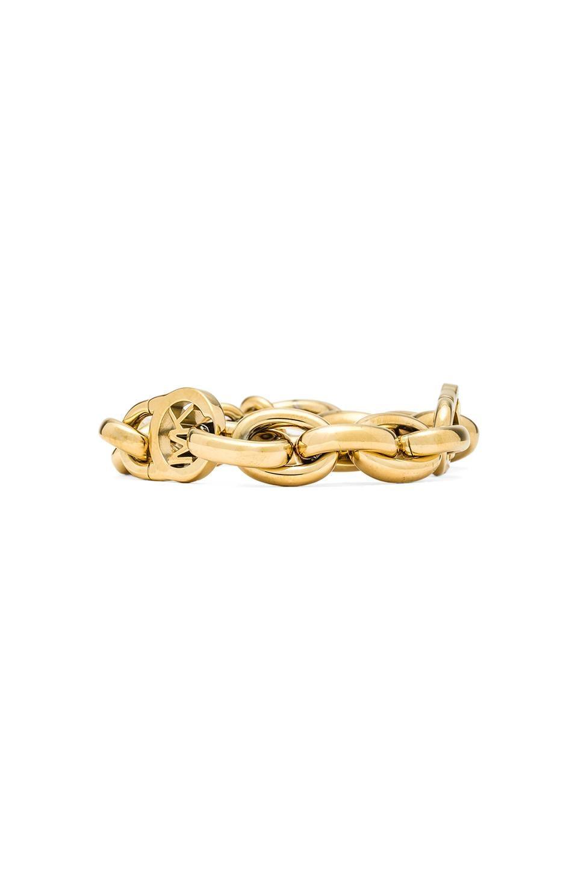 Michael Kors Chain Bracelet in Gold