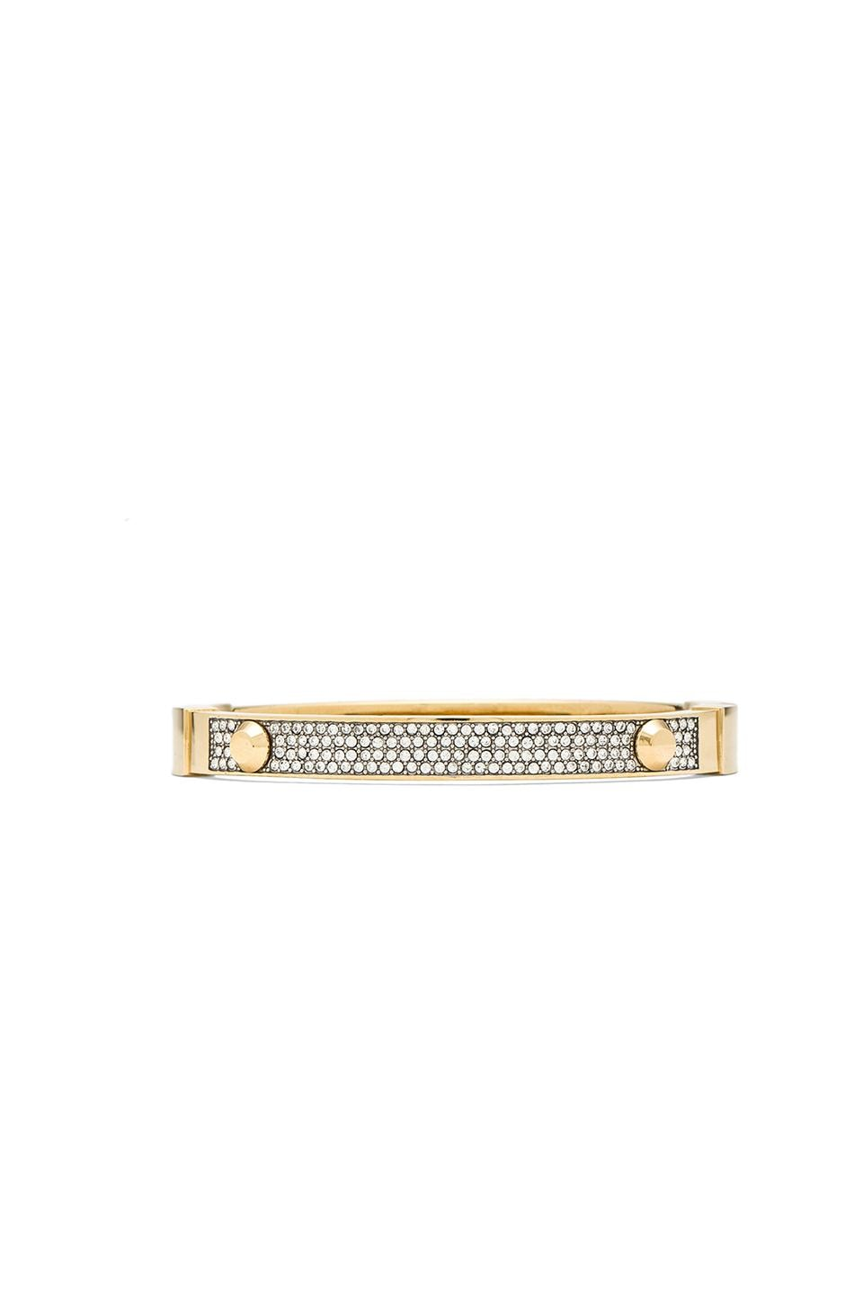 Michael Kors Crystal Bracelet in Gold