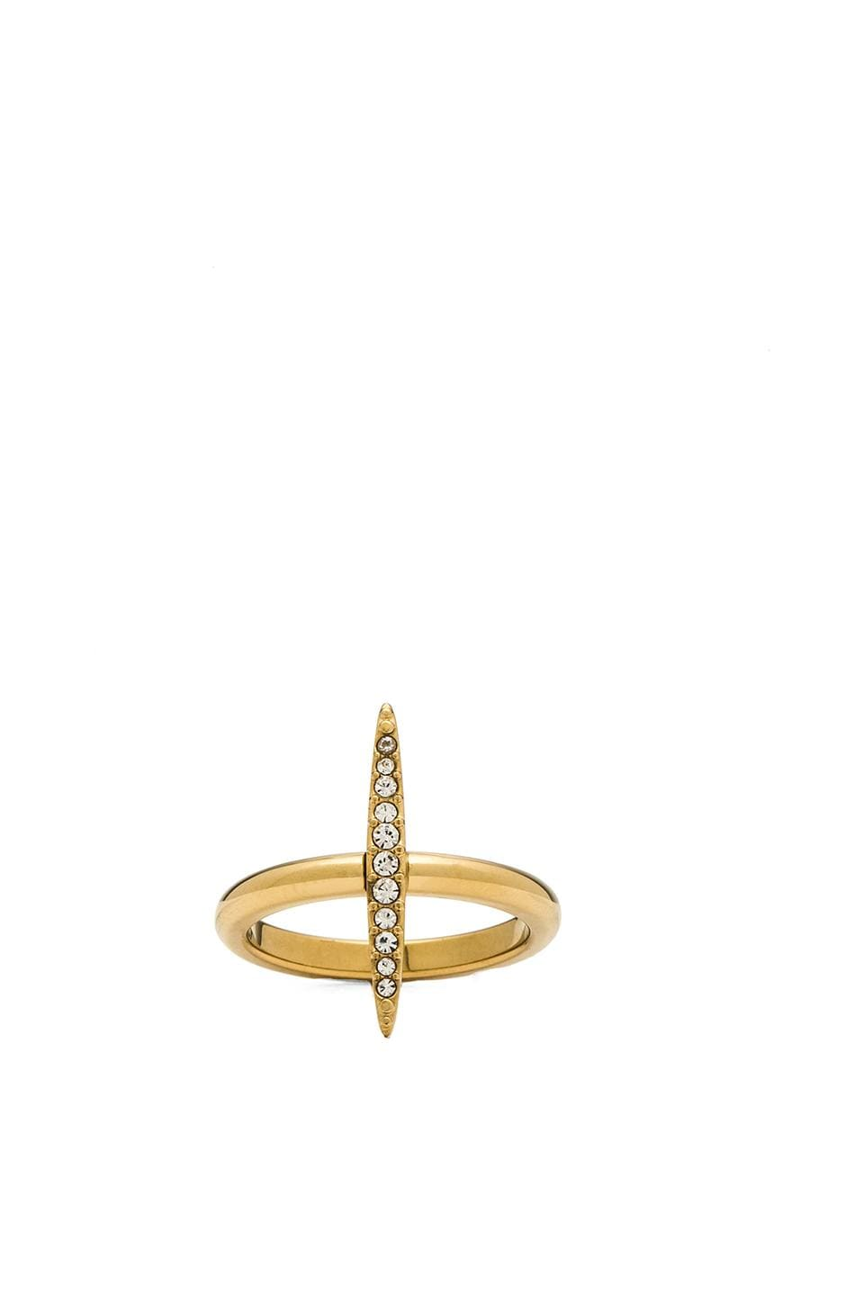 Michael Kors Matchstick Ring in Gold