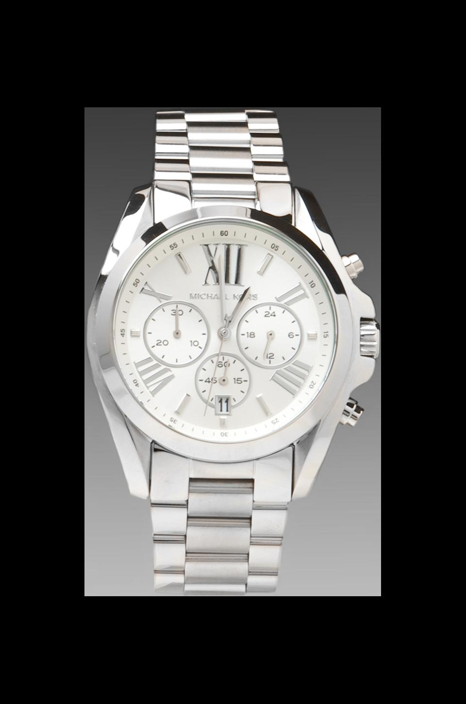 Michael Kors Bradshaw Watch in Silver