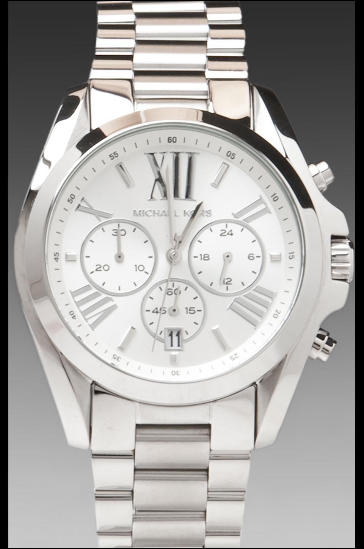 Michael Kors Bradshaw Watch in Silver