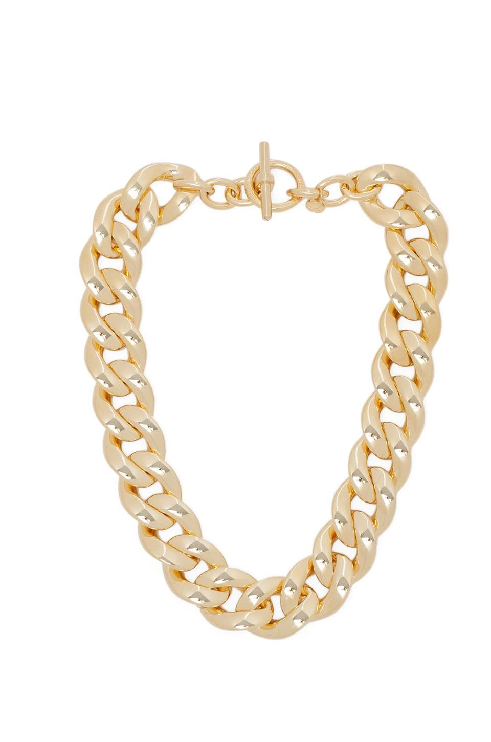 Michael Kors Chain Necklace in Gold
