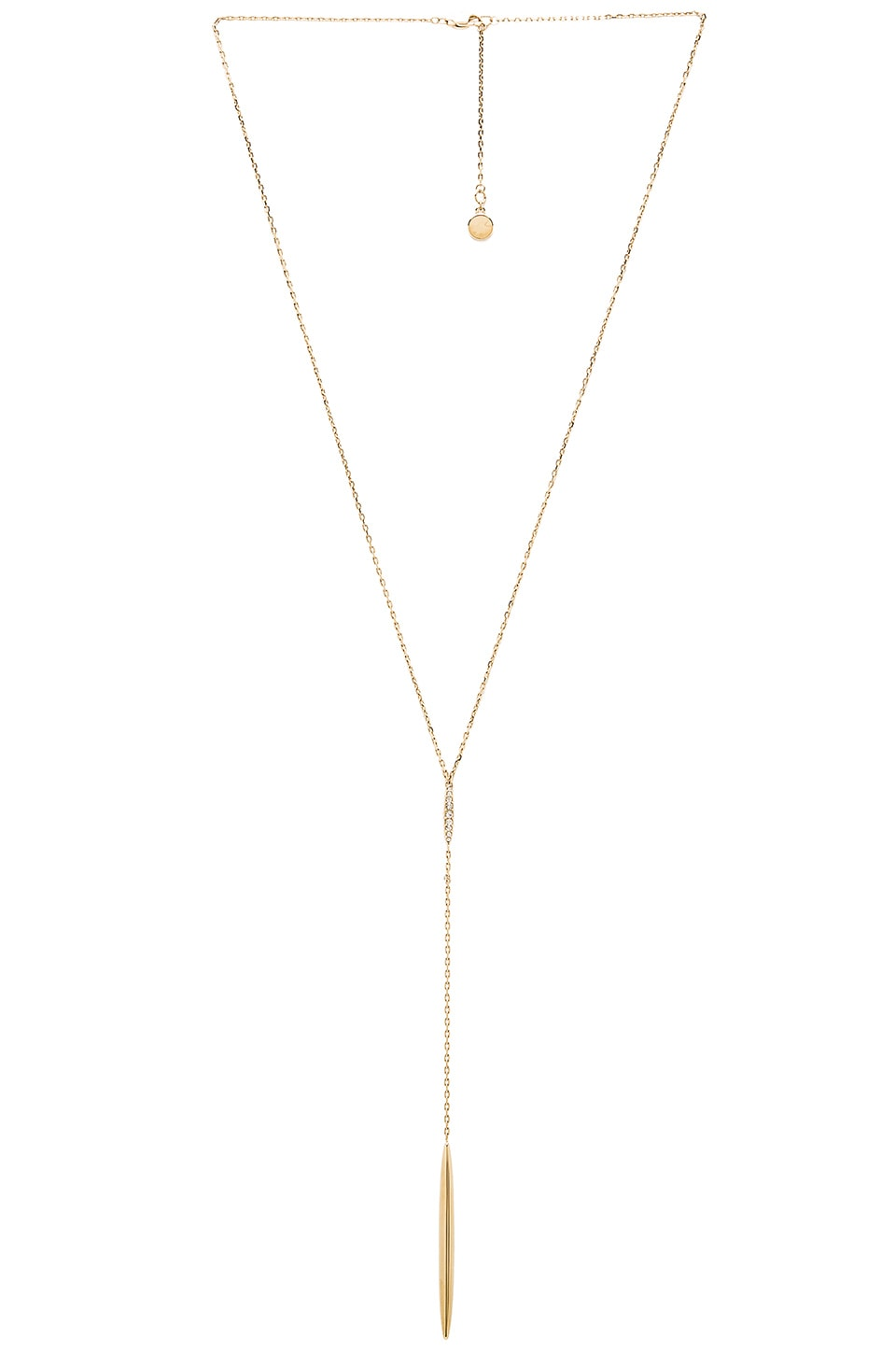 Michael Kors Summer Lariat Necklace in Gold