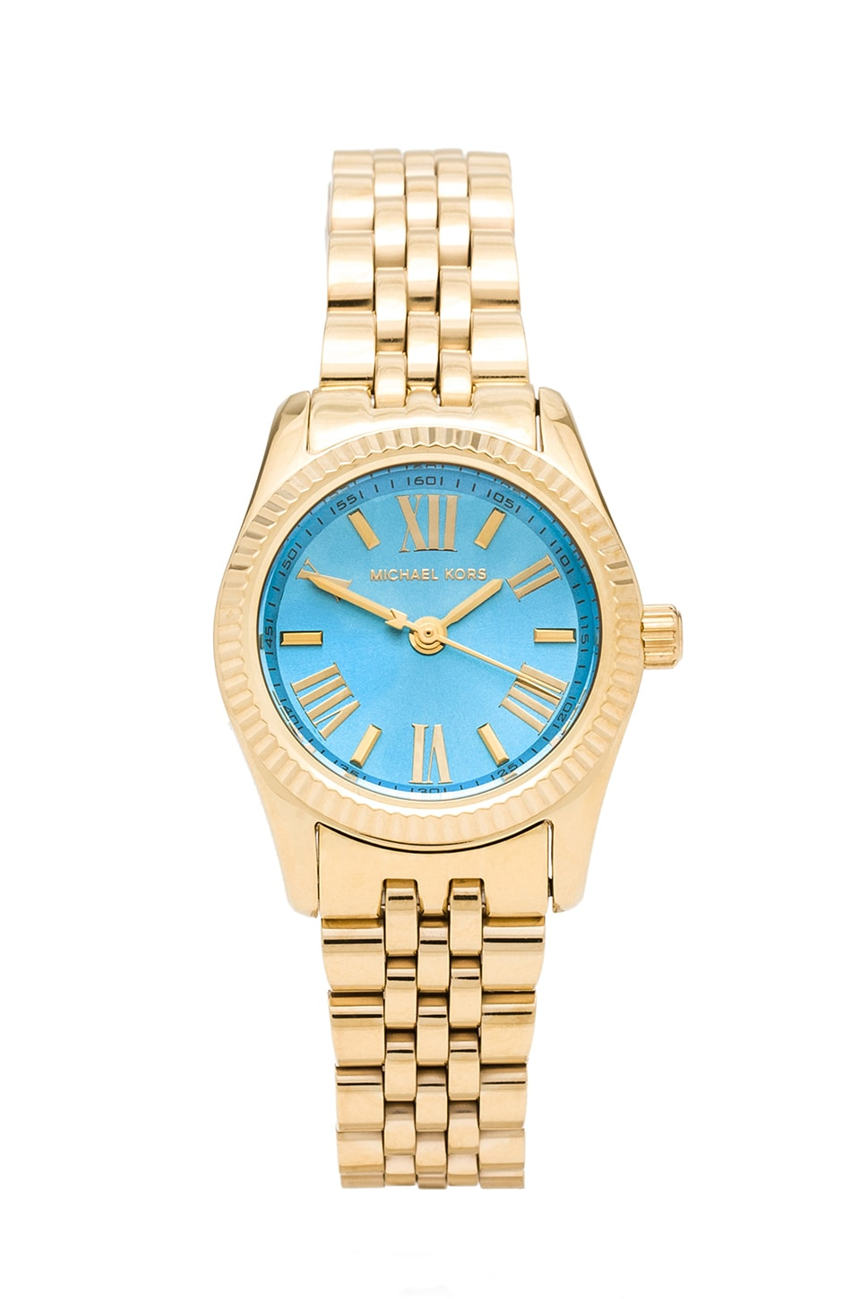 Michael Kors Petite Lexington Watch in Gold