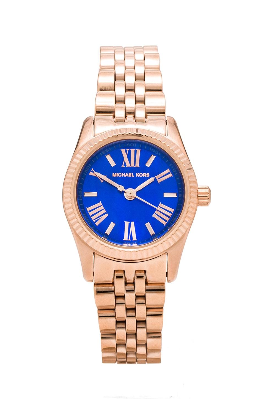 Michael Kors Petite Lexington Watch in Gold