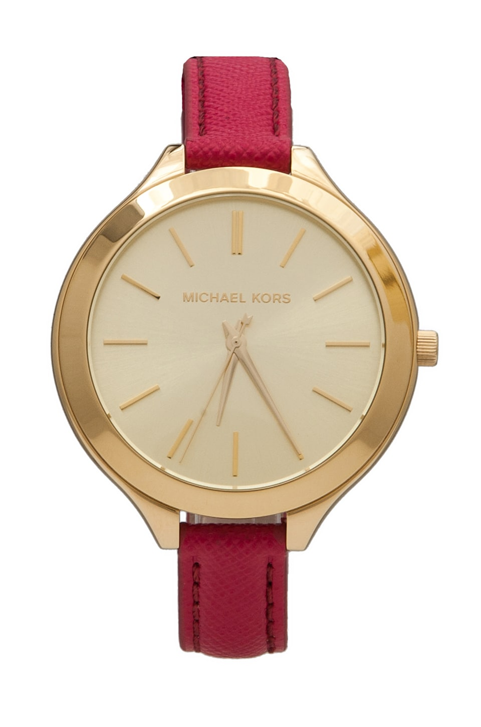 Michael Kors Slim Runway Watch in Pink