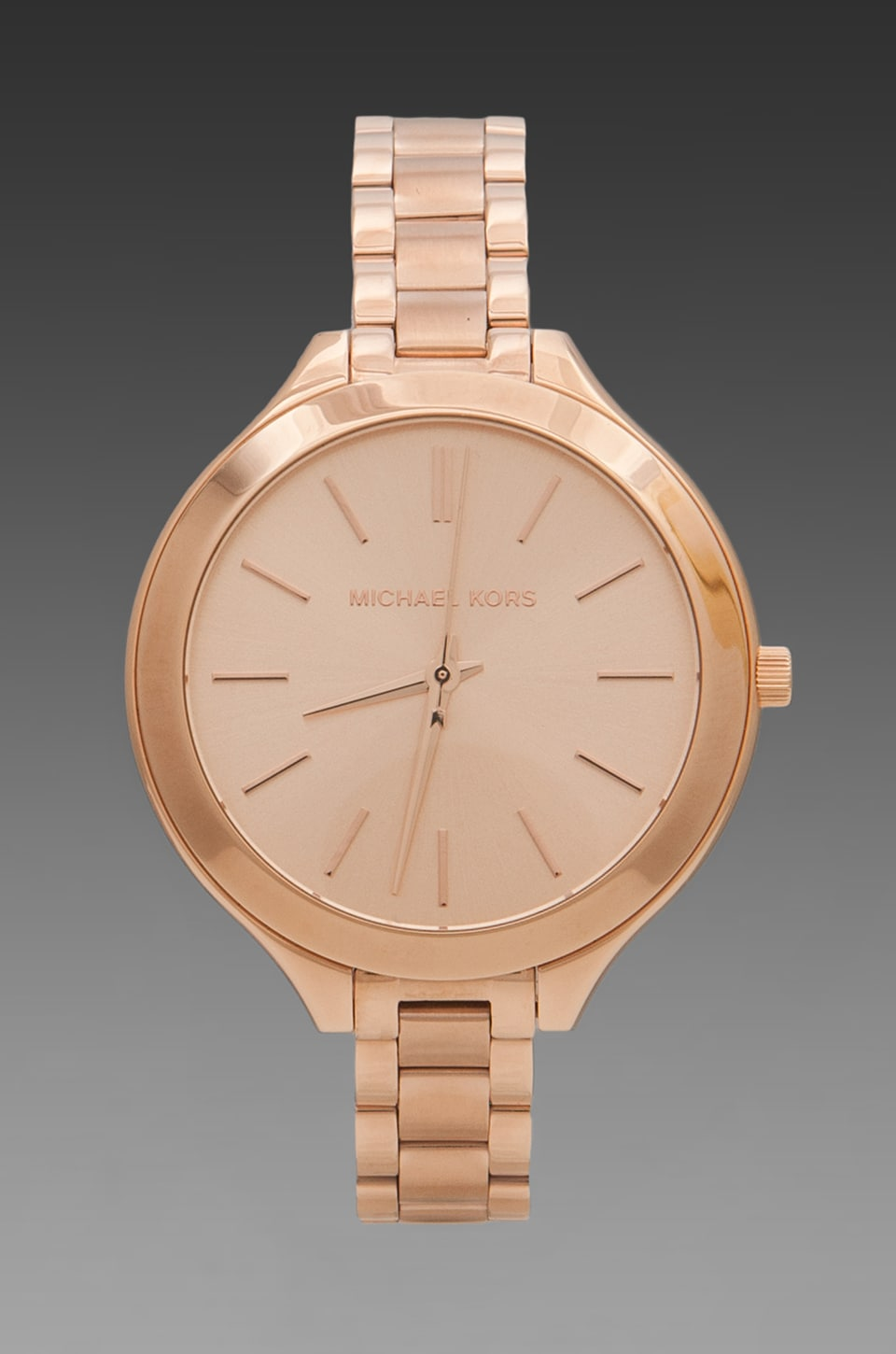 Michael Kors Slim Runway Watch in Rosegold
