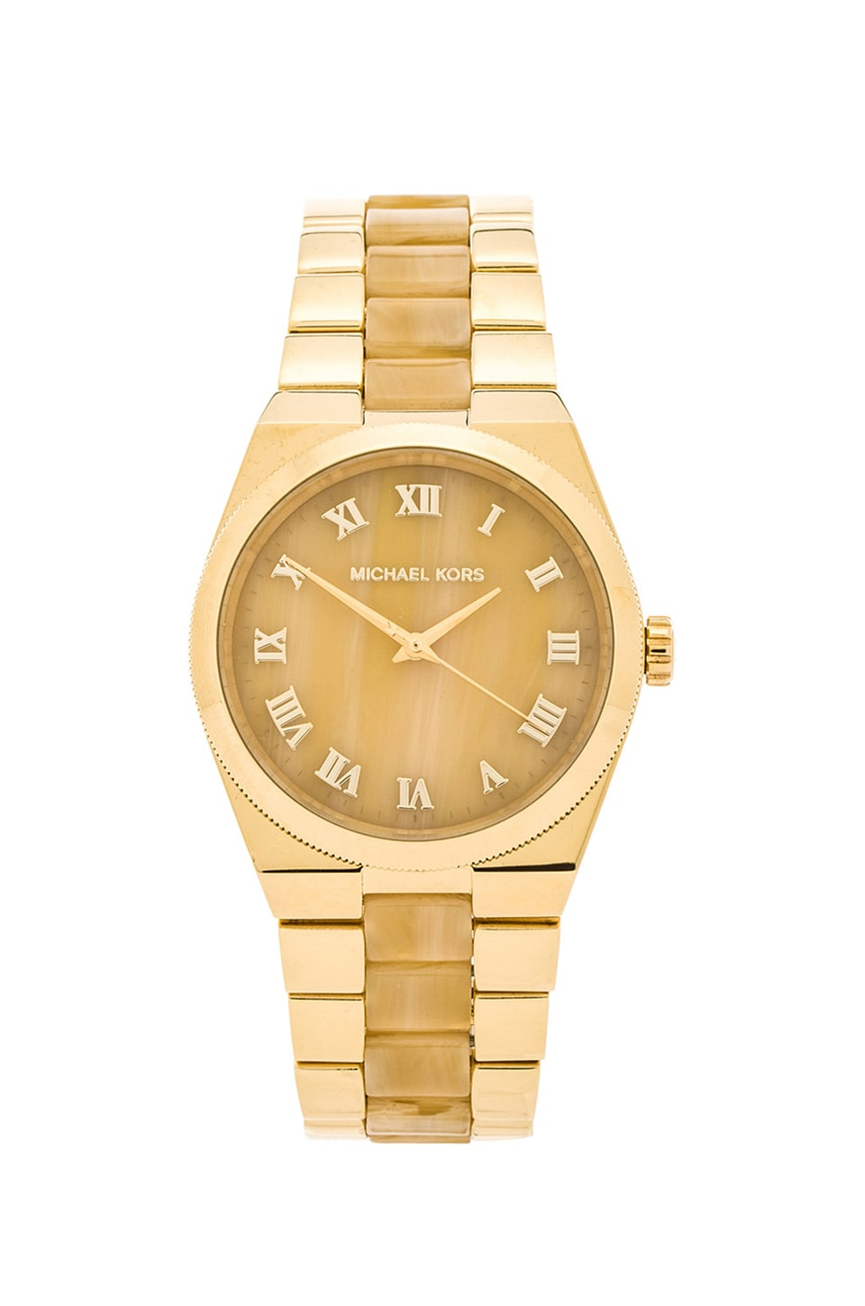 Michael Kors Channing in Gold & Horn