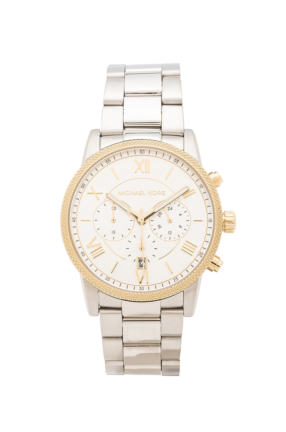 Michael Kors Hawthorne in Silver & Gold