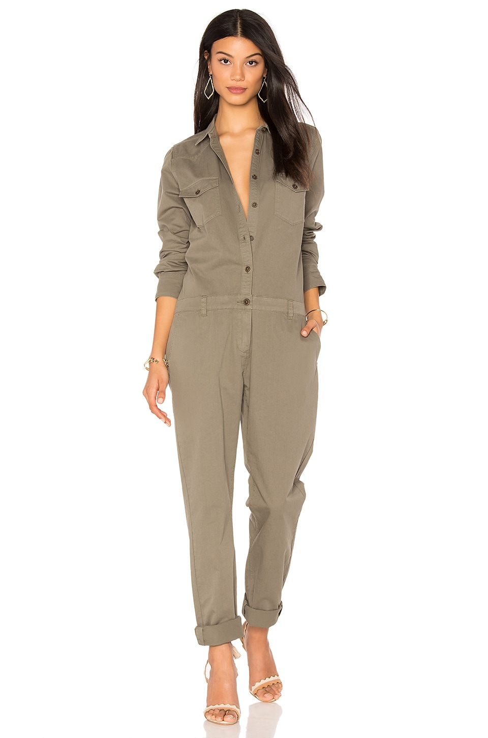 MKT studio Orali Jumpsuit in Olive