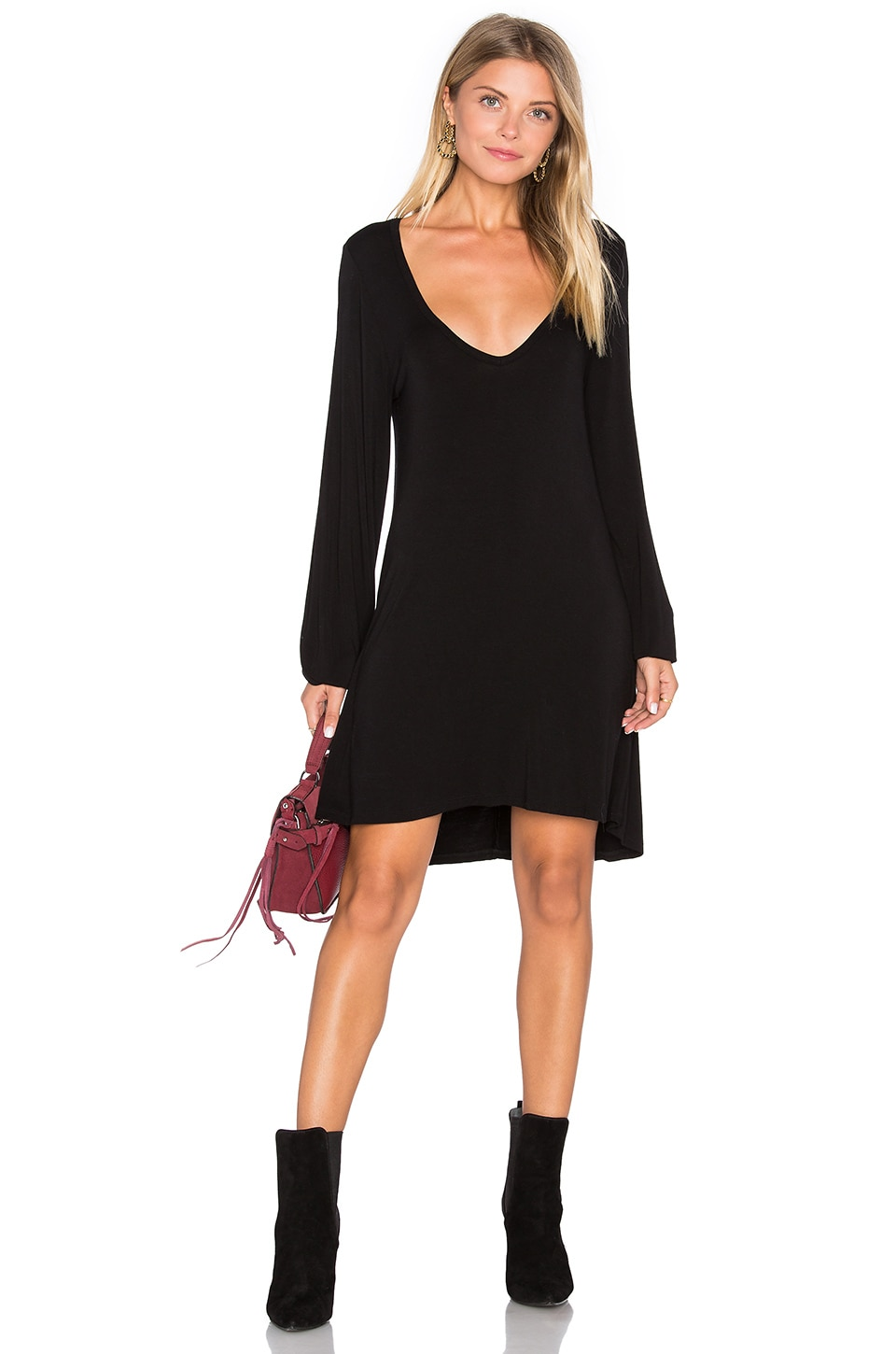 Jeb V Neck Dress by Michael Lauren