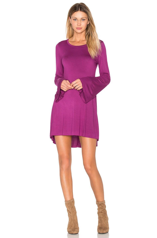 Kipp Bell Sleeve Mini Dress by Michael Lauren