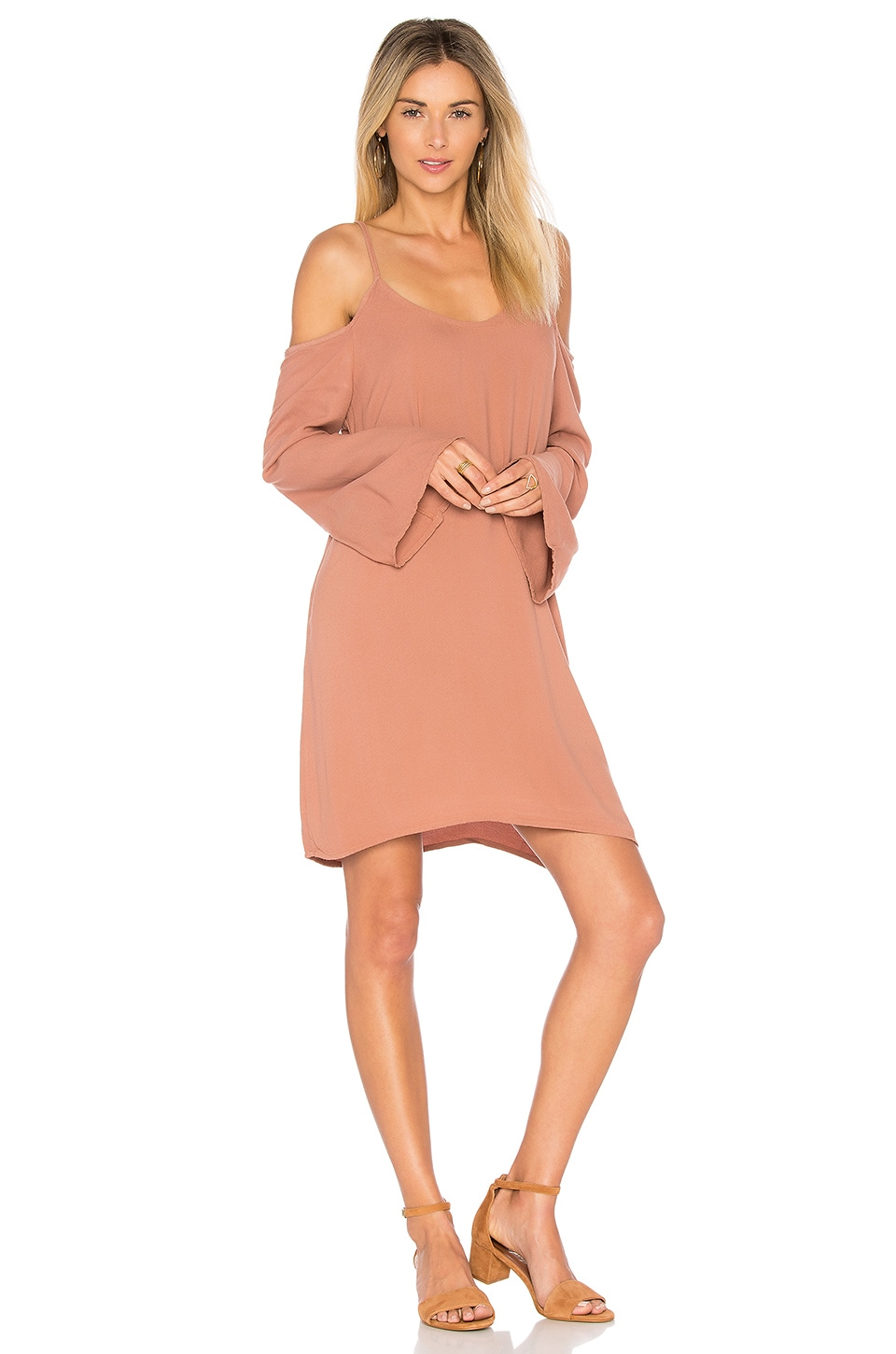 Gillis Bell Sleeve Dress by Michael Lauren