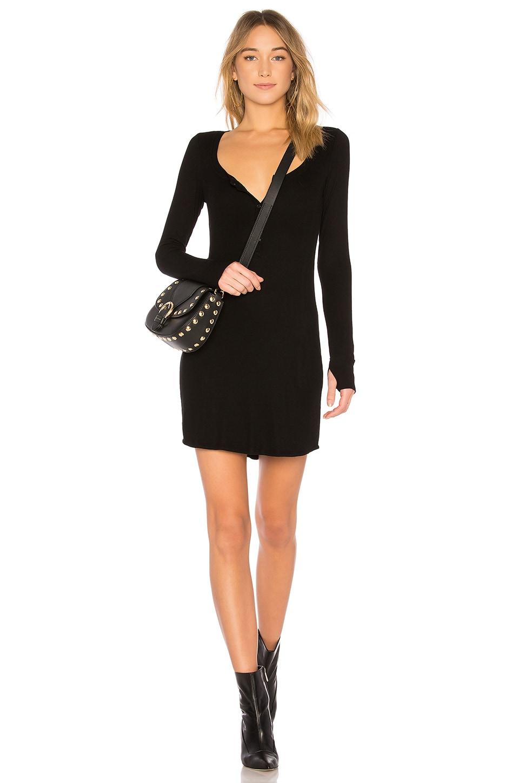 Michael Lauren Giller Dress in Black