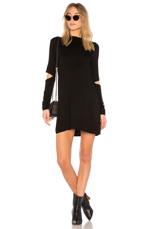 Michael Lauren Rent Dress in Black