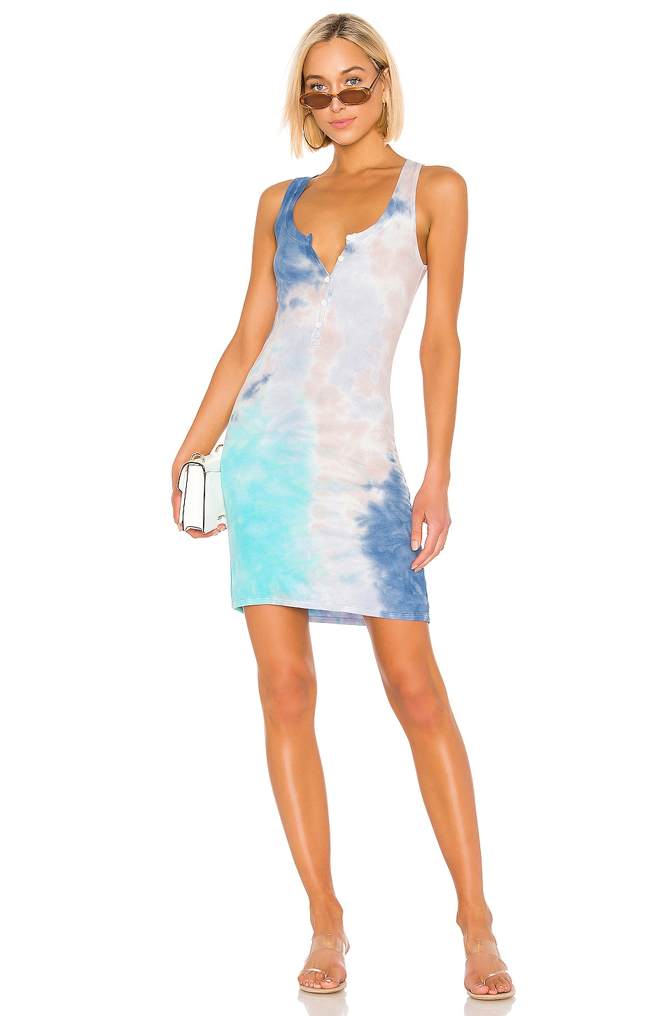 Michael Lauren Runner Dress in Galaxy Wash
