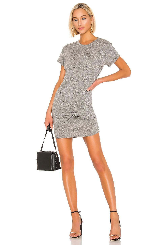 Michael Lauren Eugene Dress in Heather Grey