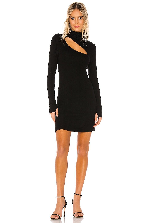 Michael Lauren Bartley Mini Dress in Black