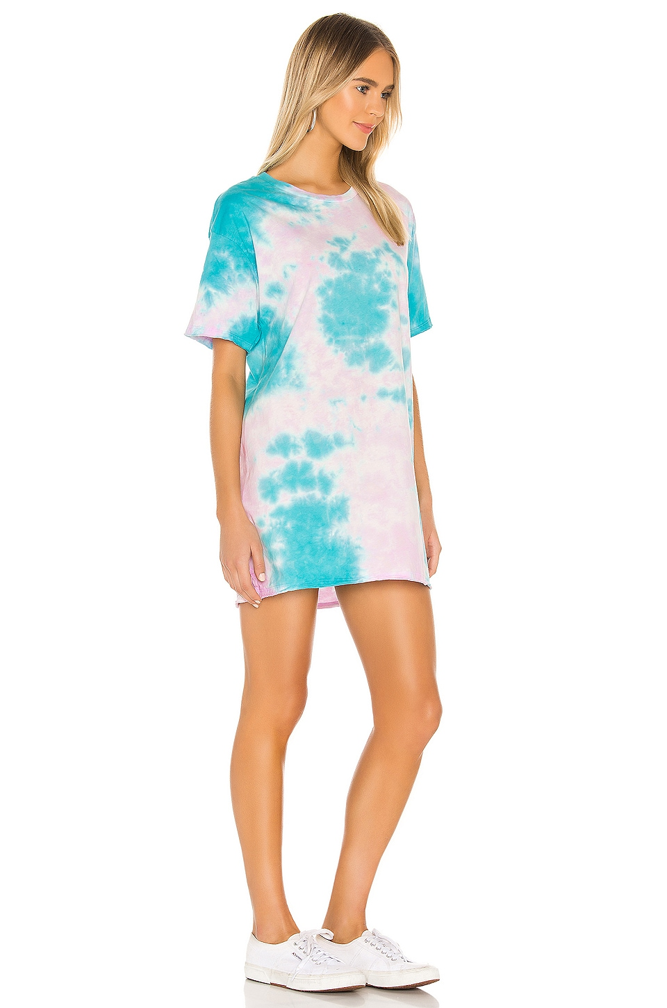 Burman Oversized T-Shirt Dress, view 2, click to view large image.
