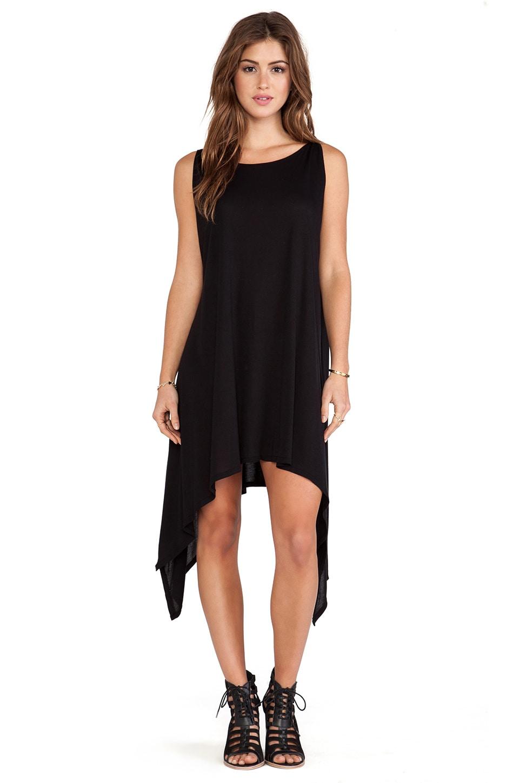 Michael Lauren Roland Tunic Dress in Black